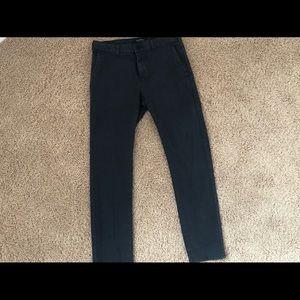 PACSUN Men's skinny flatfront pants. Size 29 x 30